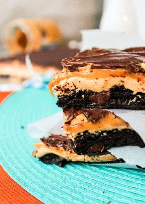 Salted Caramel Chocolate Frosting