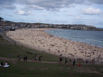 The famous Bondi Beach in Sydney