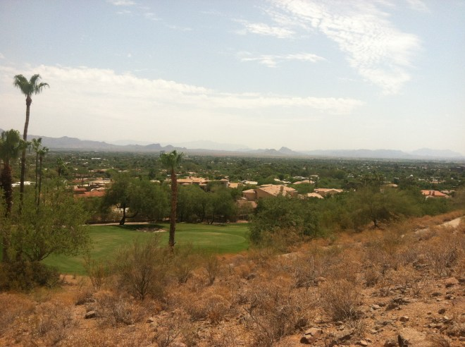 ^^View from about 1/4 mile up Cholla Hike, Scottsdale.