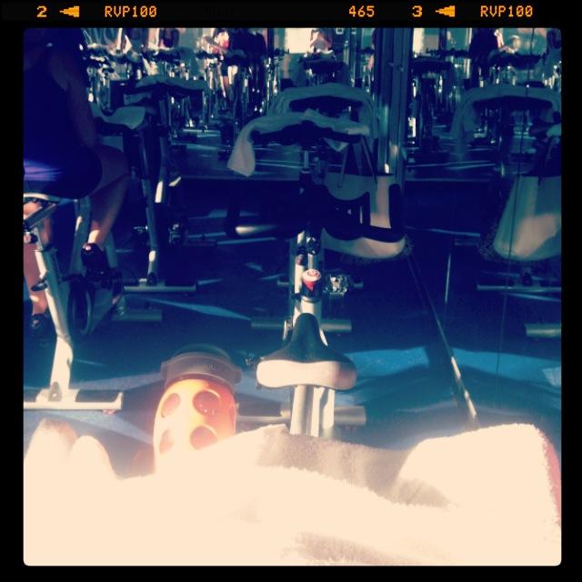 ^^ Spin class at New York Sports Club. Invigorating!