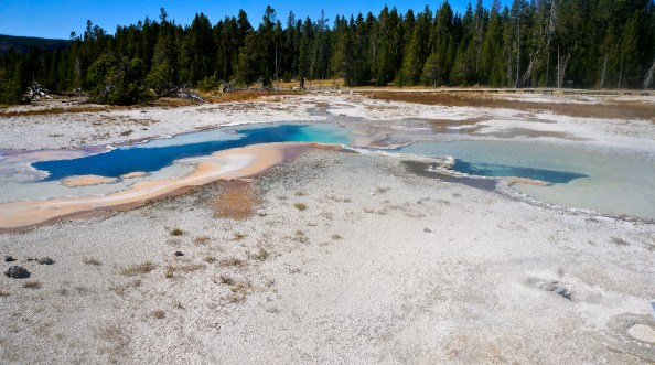 Geyser Basin, Yellowstone National Park