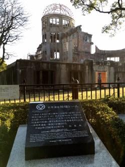 Visiting Hiroshima was a sobering experience