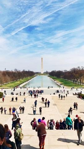 The Reflecting Pool & Washington Monument, Washington, D.C.