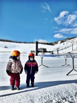 Lotte and Grace had their first ski lessons on this trip, and I was honestly so proud of both of them! Lotte especially loved it, and I think Grace will come to love it more with time, as well.
