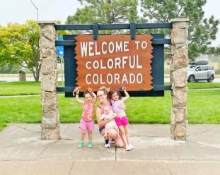 entering Colorado on the way home
