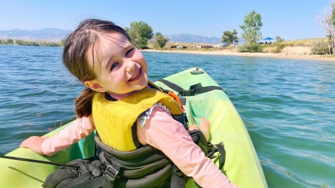 Kayaking on Standley Lake