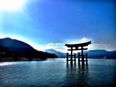 Itsukushima shrine on Miyajima Island