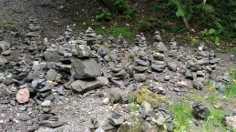 Piles of stones, known locally as the Alpbach Stone Men