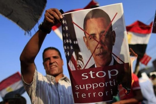 Egyptians to Obama: Stop Supporting Terrorism