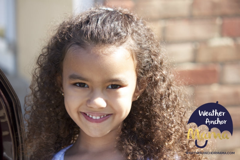 Mixed Girls Hair Styles: Mixed Hair Care: Fifth Day Wash-N-Go Curls