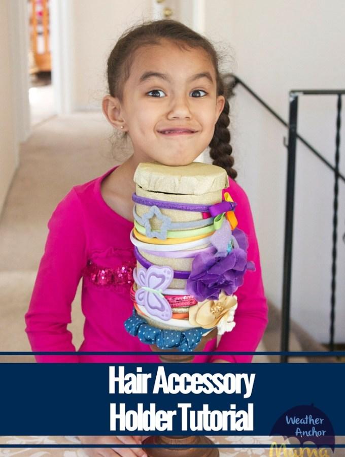 Hair Accessory Holder Tutorial