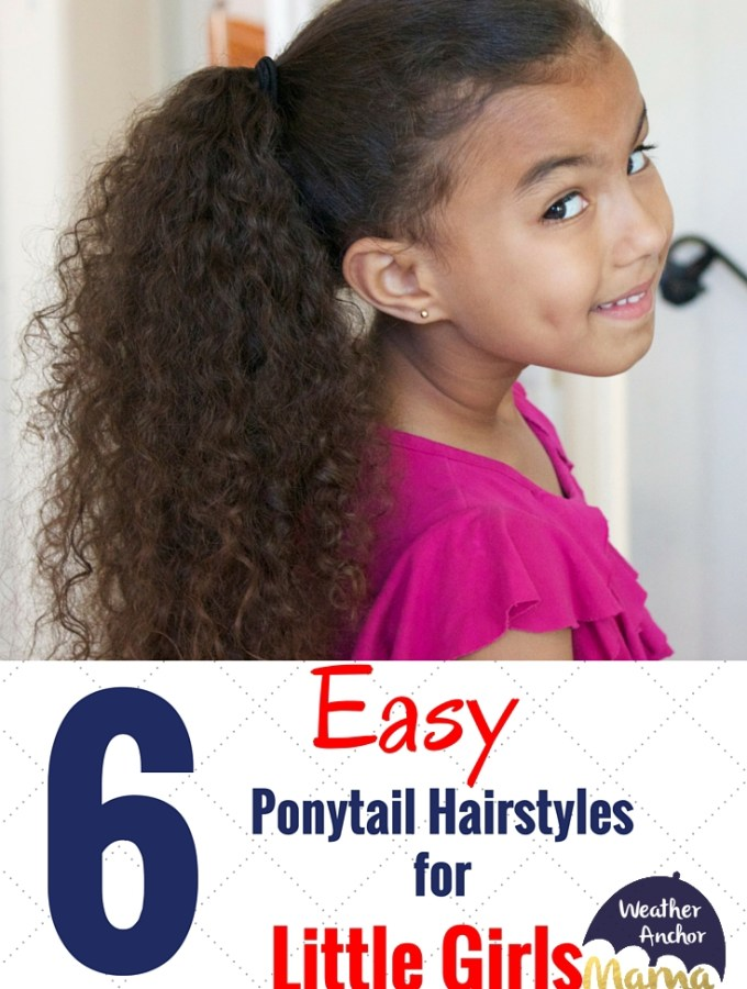 Easy Ponytail Hairstyles For Little Girls Archives Weather