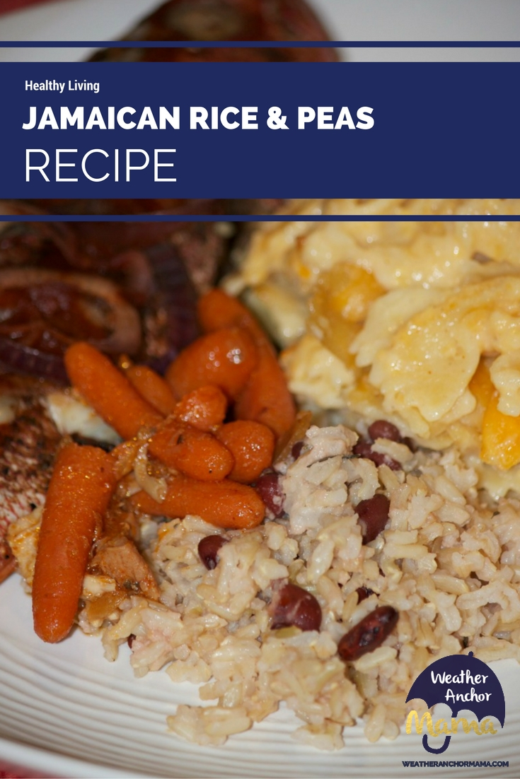 Jamaican rice and peas recipe weather anchor mama jamaican rice and peas recipe healthy living forumfinder Images