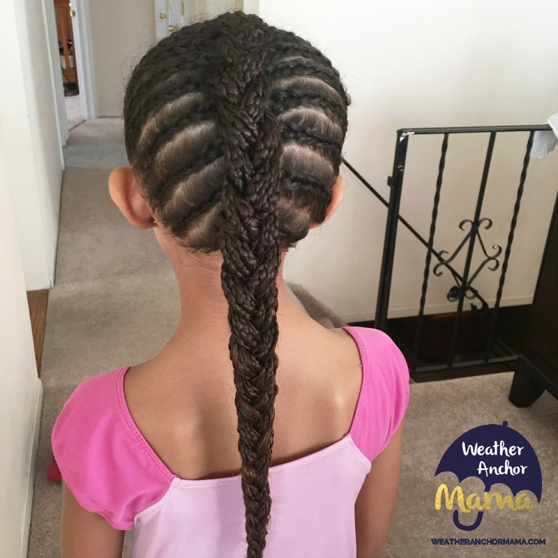 Cornrow French Braid Combo curly biracial hair mixed hair care braided hairstyles3