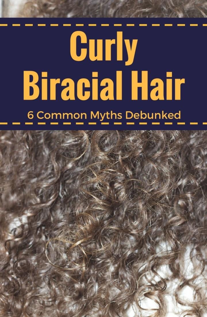 Curly Biracial Hair