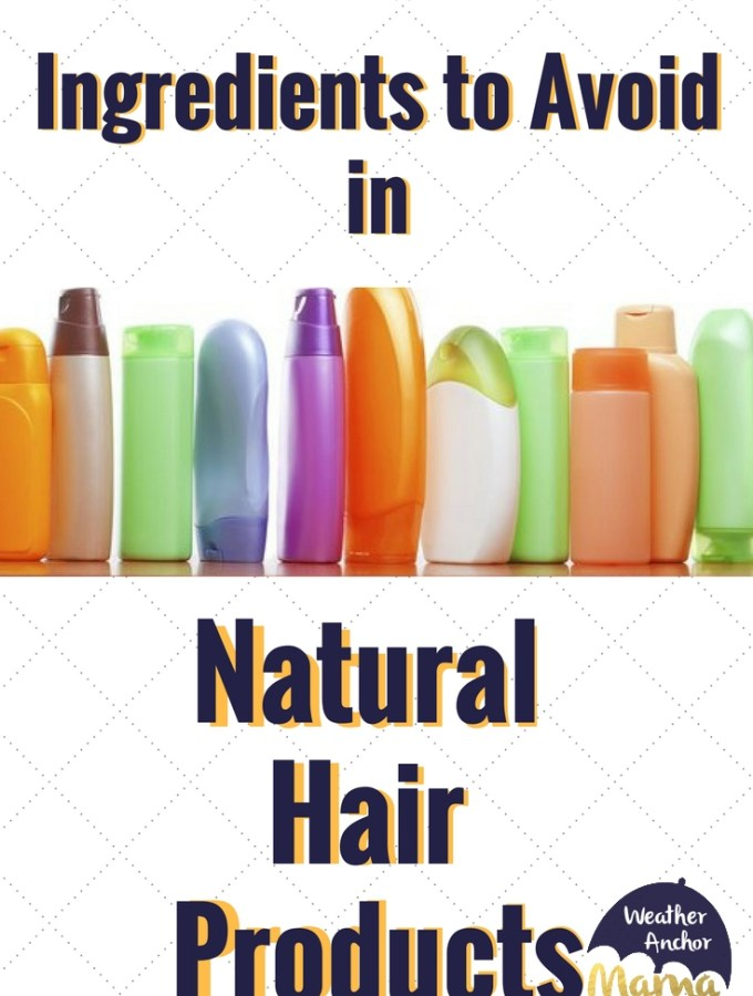 ingredients to avoid in natural hair products