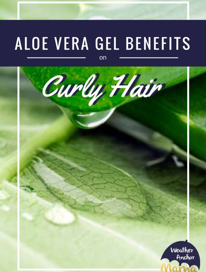 aloe vera gel benefits curly hair