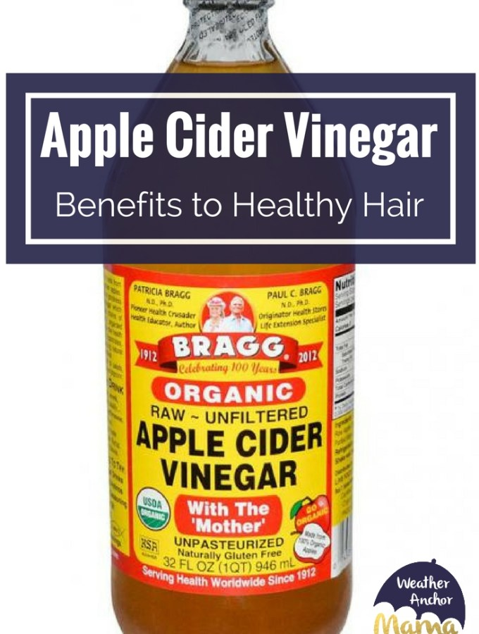 apple cider vinegar benefits healthy hair