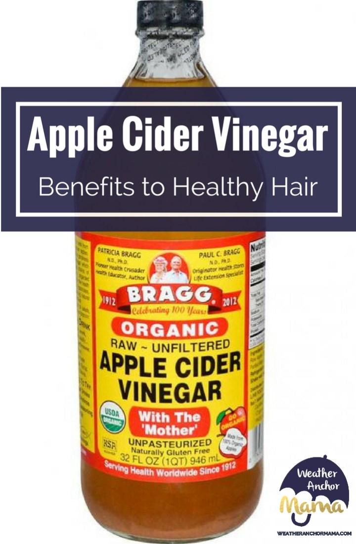 apple cider vinegar benefits healthy hair