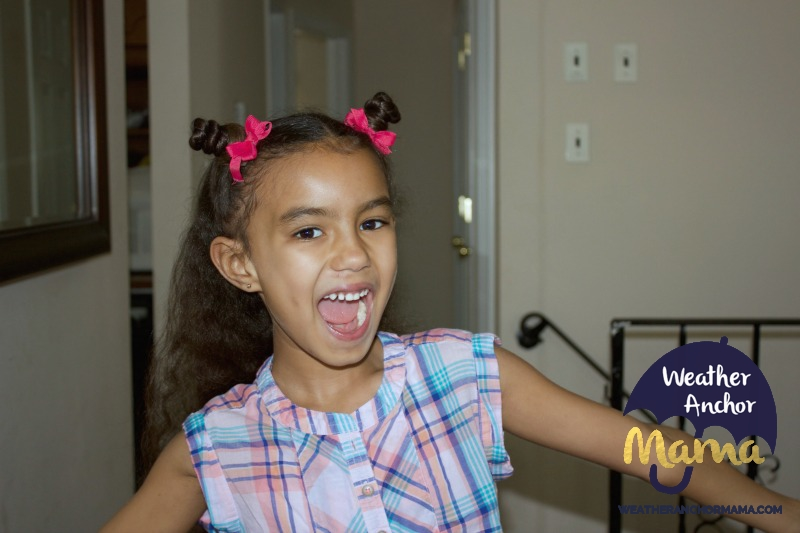 5 Easy Half Up Half Down Curly Hairstyles little girls biracial hair mixed hair care curlykids bantu knots braided hairstyles how to do dutch braid 4
