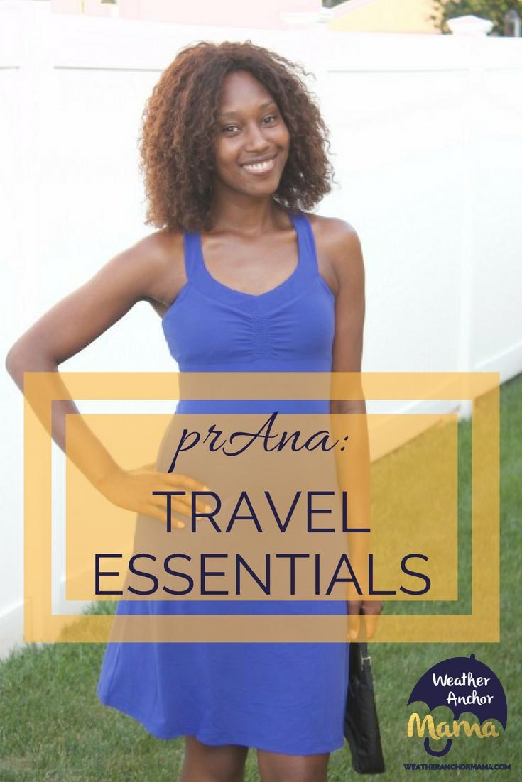 prAna Travel Checklist