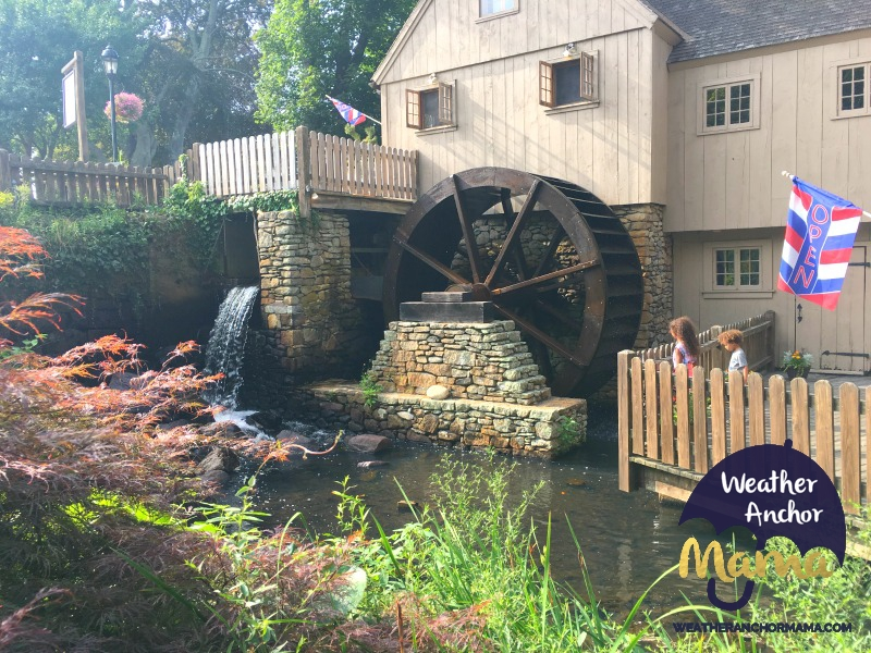 Family Vacation Plimoth Grist Mill Plymouth Massachusetts