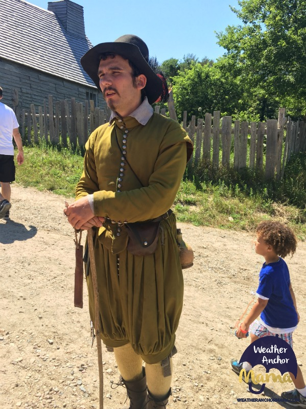 william bradford governer pilgrim plimoth plantation family vacation