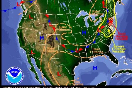 Les idées de maison » california weather map | Maison