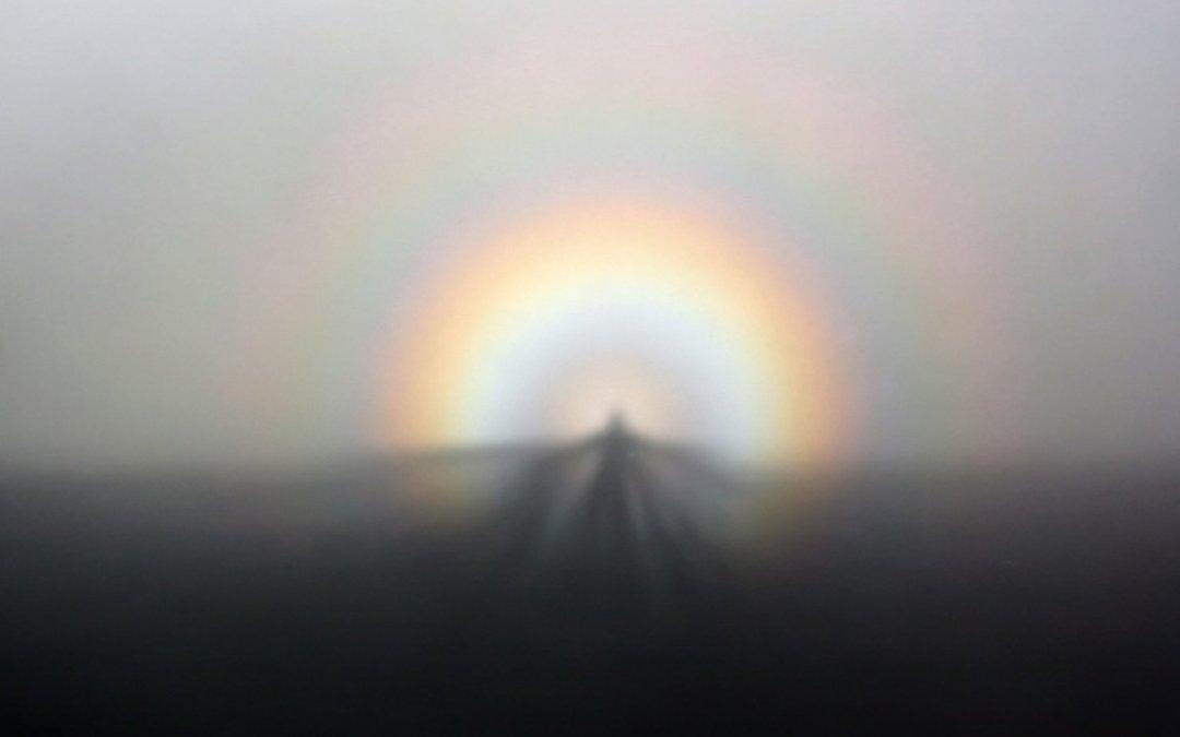 Brocken Spectre: Mountains Misty Glory
