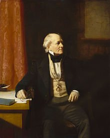 A portrait of Commander Francis Beaufort