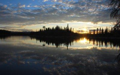 Midnight Sun- The Sunlight of the Arctic