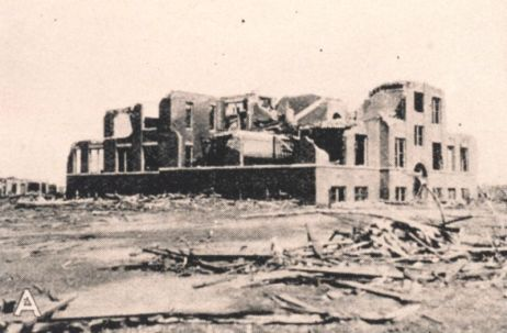 March 18, 1925 Tri State Tornado damage