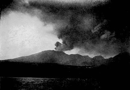 Mt. Pelee on May 26, 1902.