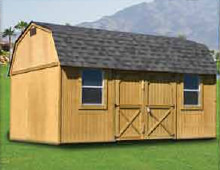 Weatherking Side Lofted Barn