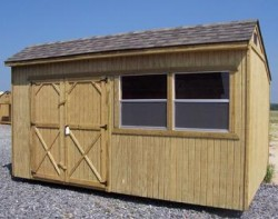 Weatherking Treated Cottage Shed