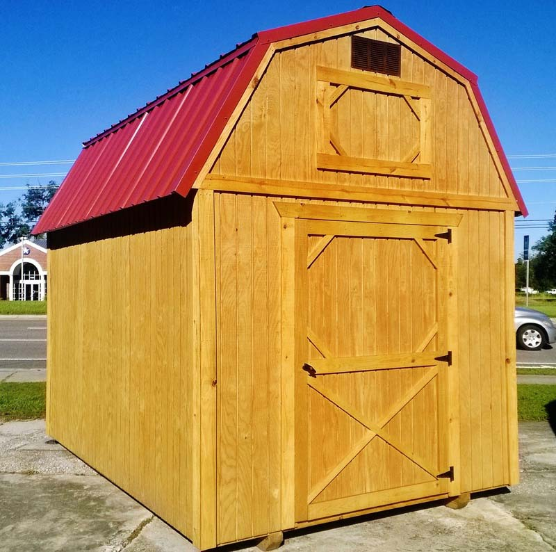 Lofted barn weatherking private storage for Lofted barn shed