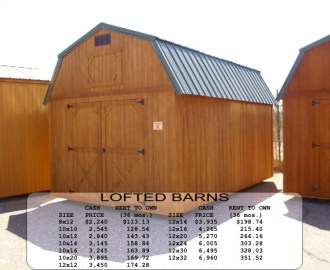 Weatherking Lofted Barn