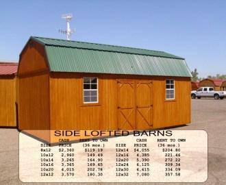 Weatherking Side Lofted Barn