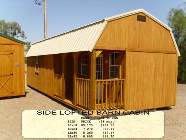 Weatherking Side Lofted Cabin