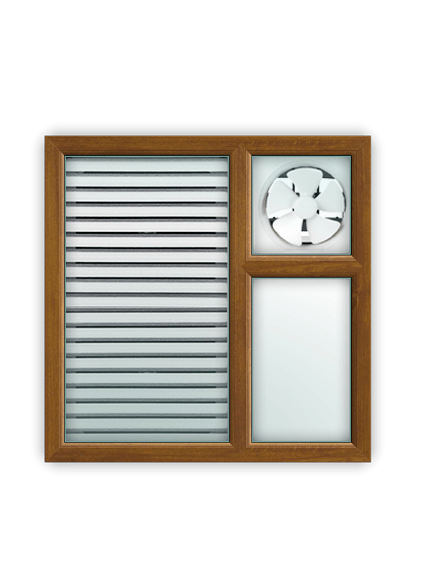 UPVC Ventilators