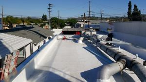 Commercial cool roofing