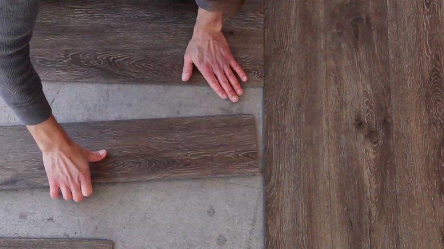 luxury vinyl tile narrowing your