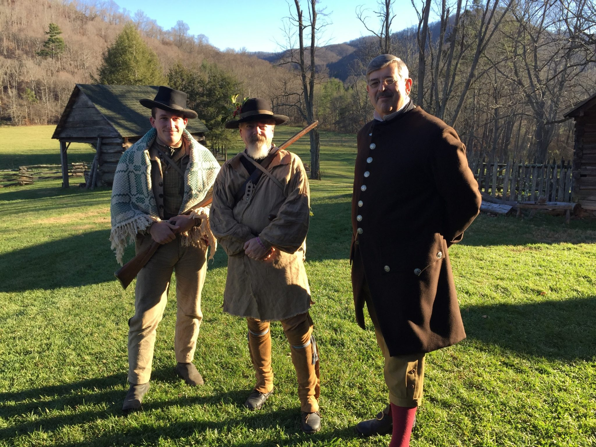Vance Birthplace Renenactors