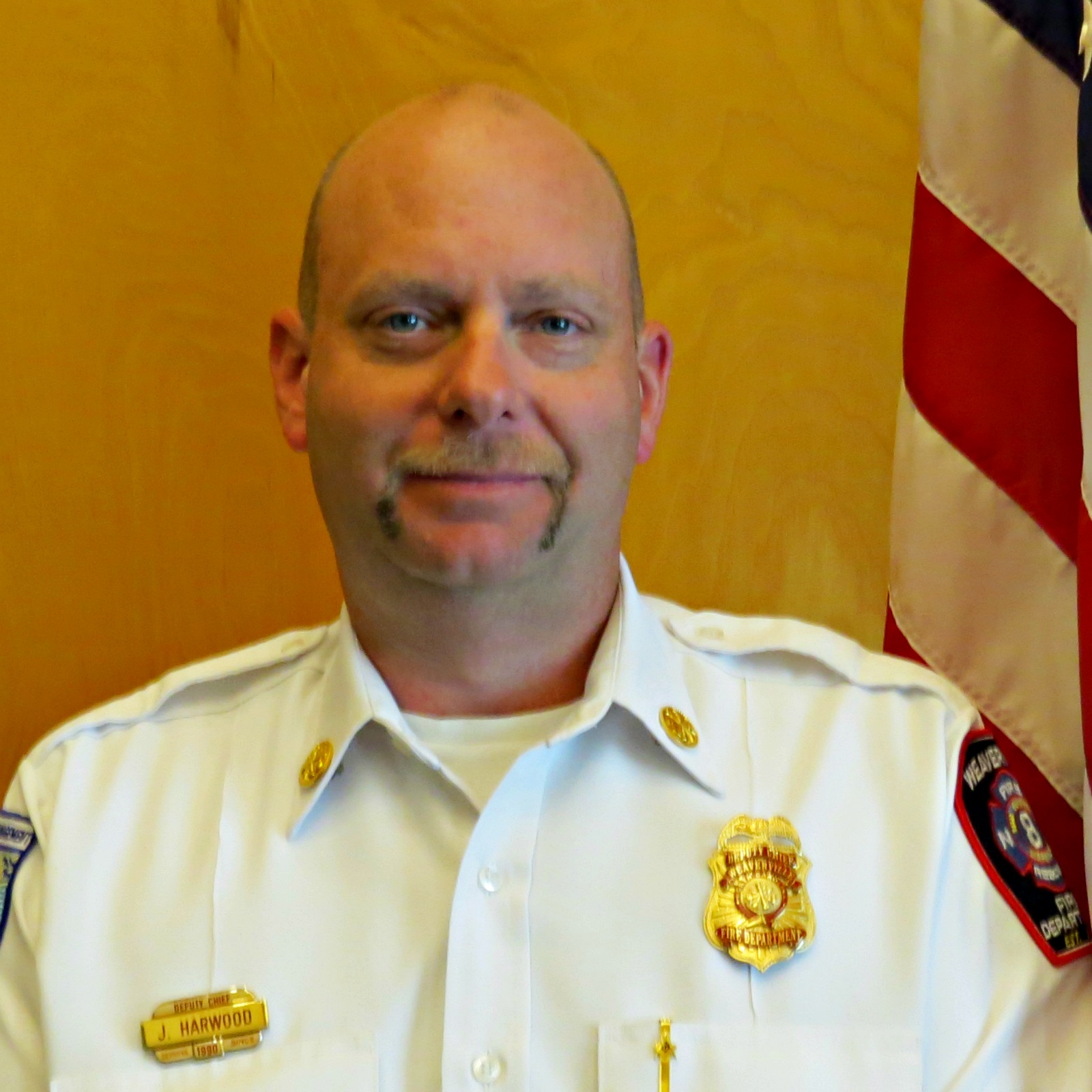 Town Of Weaverville NC Jayson Harwood Deputy Fire Chief