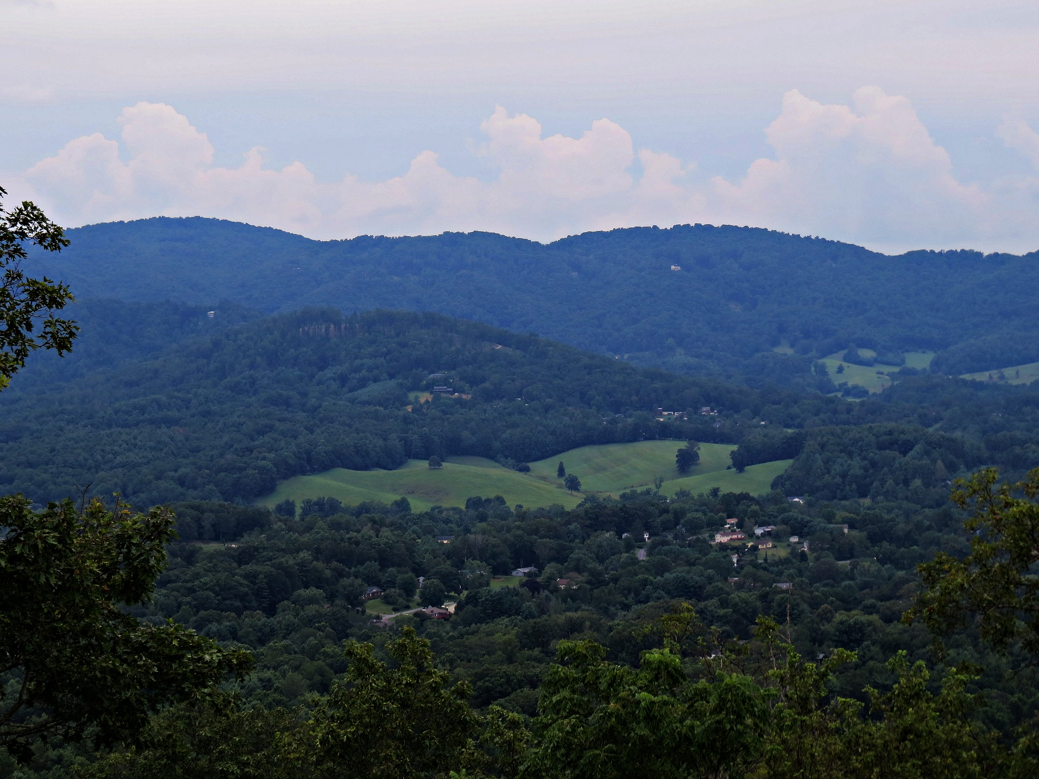 Town Of Weaverville From Hamburg Mtns