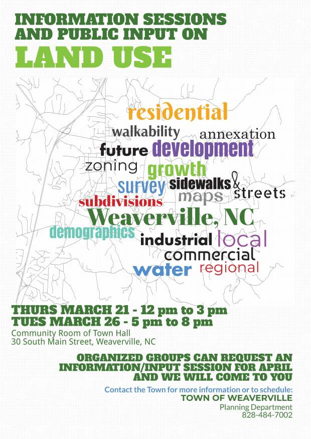 Land Use Info Session Flyer