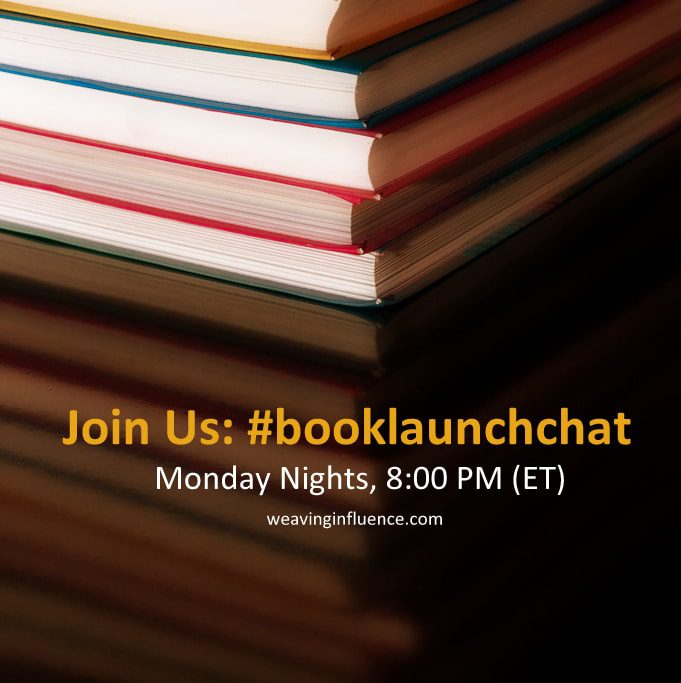 #booklaunchchat Resumes Tonight