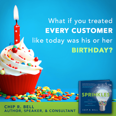Featured on Friday: #Sprinkles Author @ChipRBell