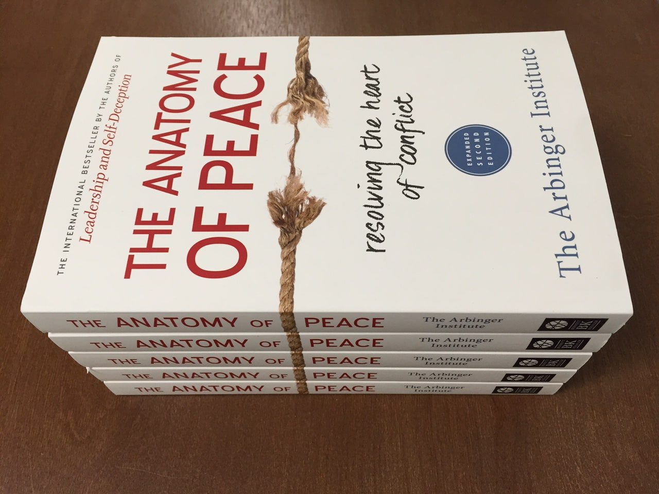 Featured on Friday: #AnatomyOfPeace Author @Arbinger