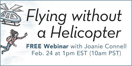 Flying Without A Helicopter – With Joanie Connell